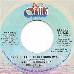 Maureen McGovern - Even Better Than I Know Myself album
