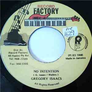 Gregory Isaacs - No Intention album