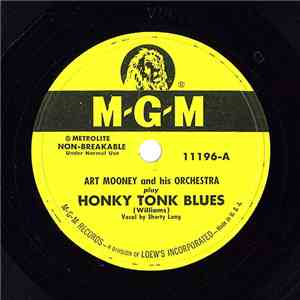 Art Mooney And His Orchestra - Honky Tonk Blues / Move It On Over album