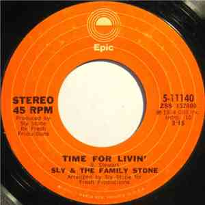 Sly & The Family Stone - Time For Livin' album