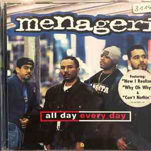 Menageri - All Day Every Day album