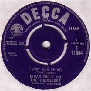 Brian Poole And The Tremeloes - Twist And Shout album
