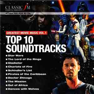 Various - Top 10 Soundtracks (Greatest Movie Music Vol. 1) album